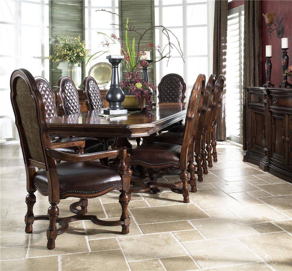 Fine Furniture Design Viniterra Formal Dining Room Group