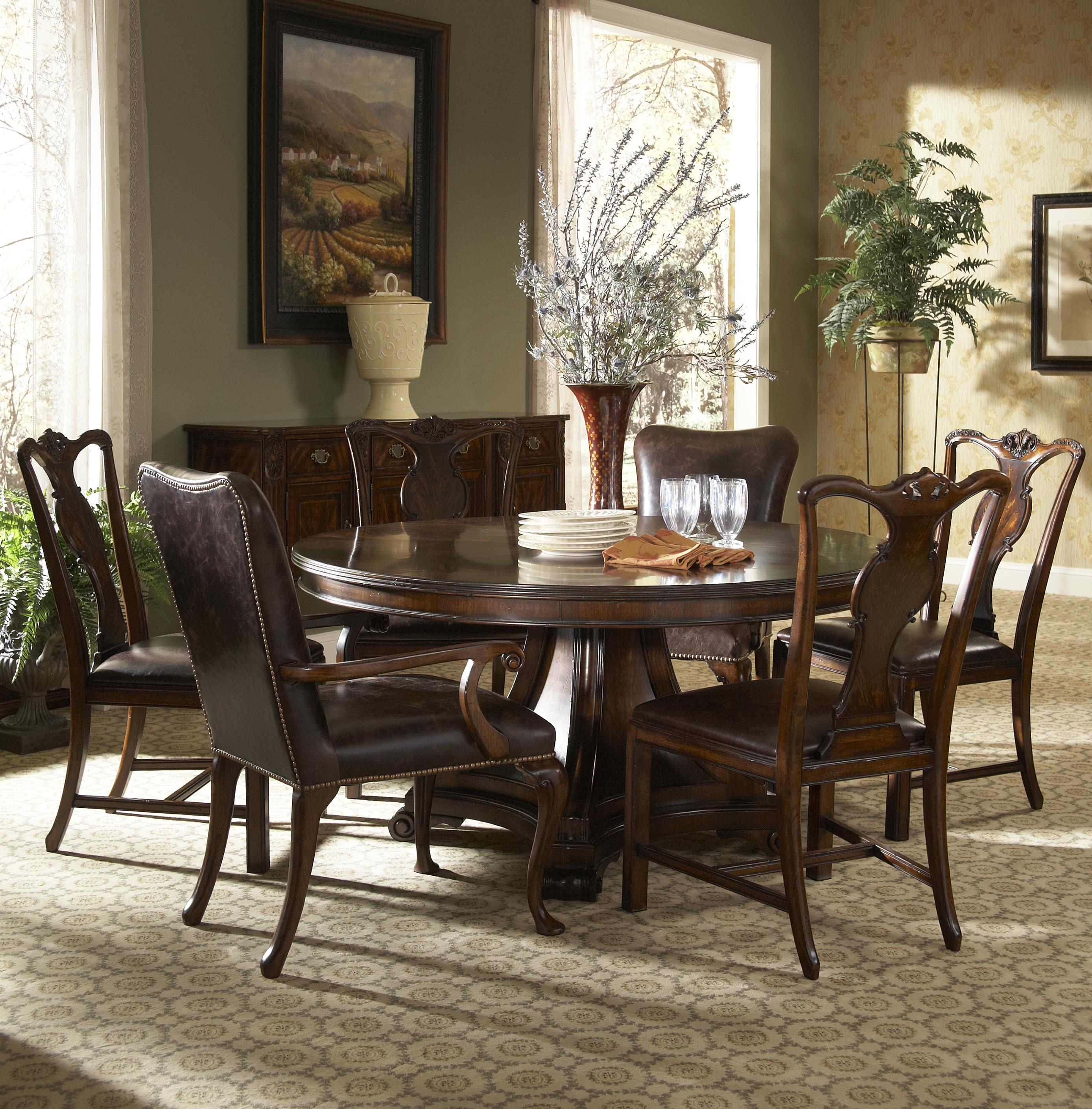 Fine Furniture Design Hyde Park Formal Dining Room Group