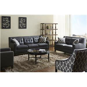 accent chairs to match brown leather sofa organizer india warehouse m pilgrim furniture city hartford bridgeport connecticut living room group by