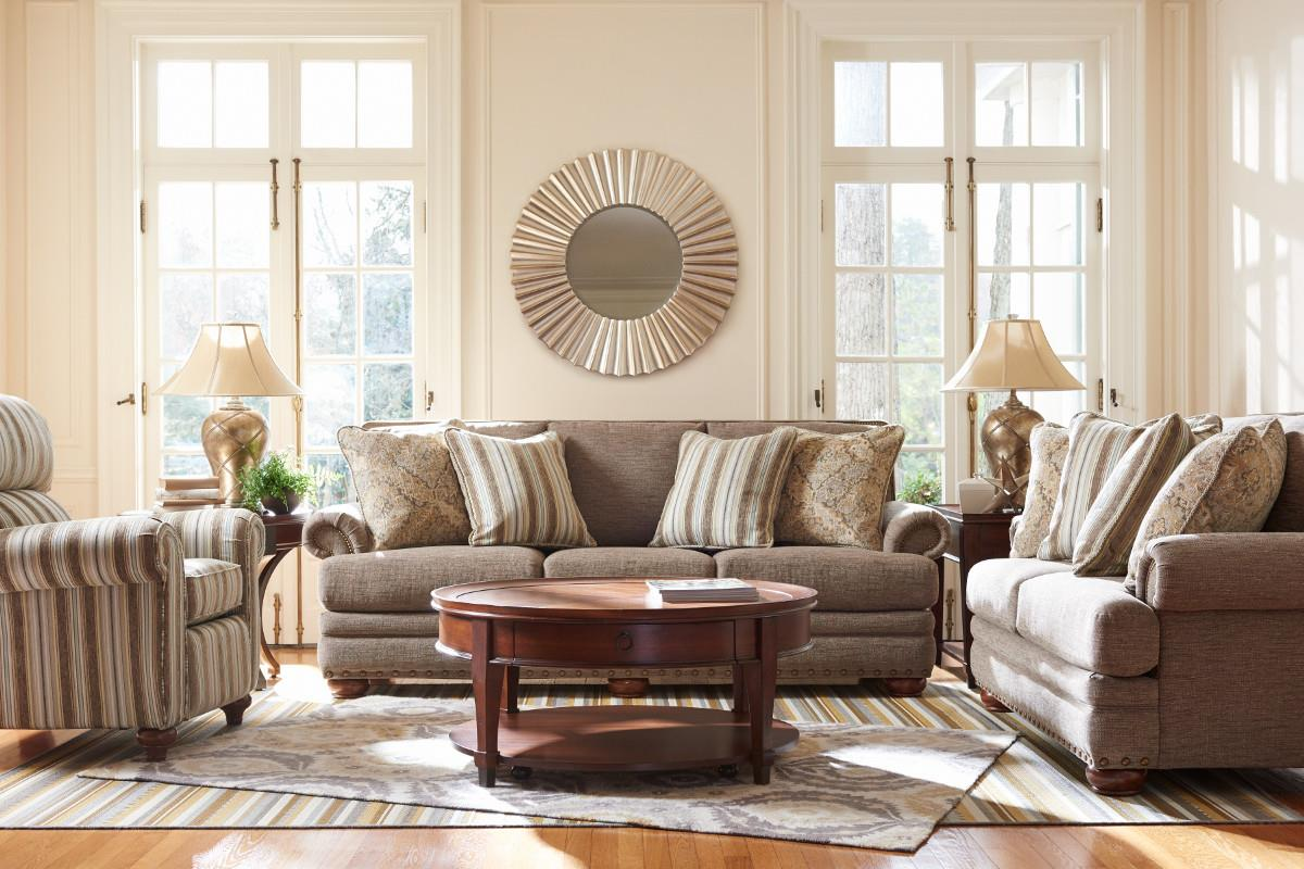 LaZBoy BRENNAN Stationary Living Room Group  Boulevard