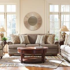 Lazy Boy Living Room Pottery Barn Chairs La Z Brennan Stationary Group Boulevard Home Furnishings Upholstery