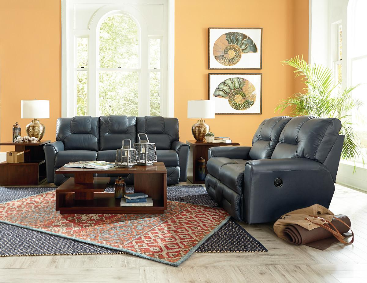 lazy boy reclining sofa and loveseat pottery barn small sectional easton 702 by la z adcock furniture dealer