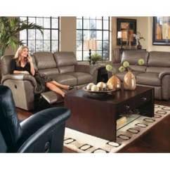 Lazy Boy Living Room Light Grey Sofa La Z Tyson Reclining Group Rotmans Groups