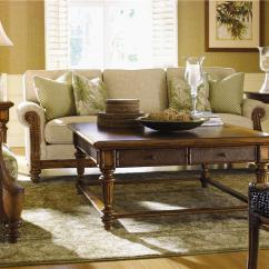 Casual Elegant Living Room Furniture Wine Bar Tucson Island Estate (531) By Tommy Bahama Home - Baer's ...