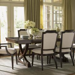 Lexington Dining Chairs Office Chair Kuwait Kensington Place Candace Arm Upholstered In Odessa Fabric Lindy S Furniture Company