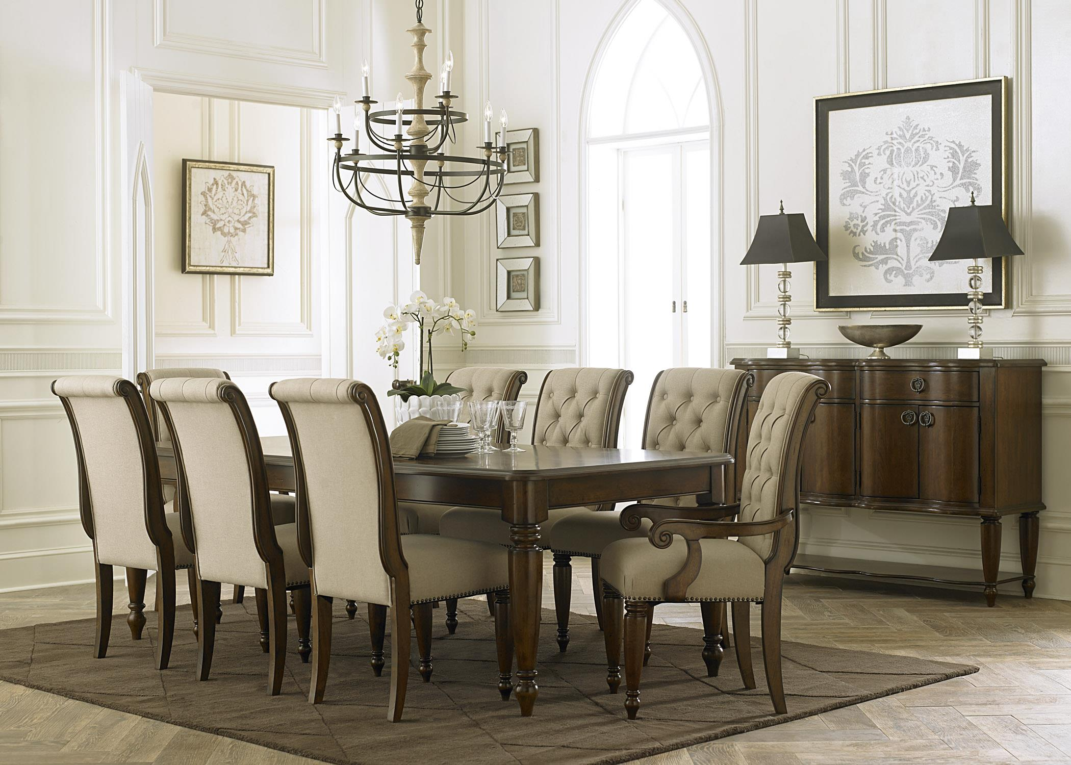 formal living room set how to decorate a with chocolate brown couch liberty furniture cotswold dining group wayside