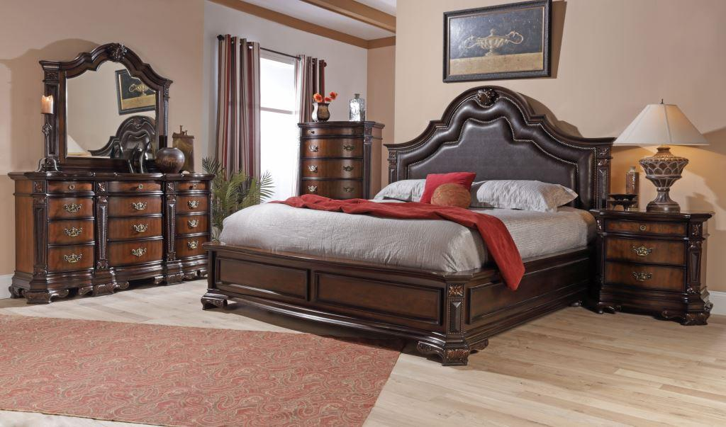 lifestyle 4258a king faux leather
