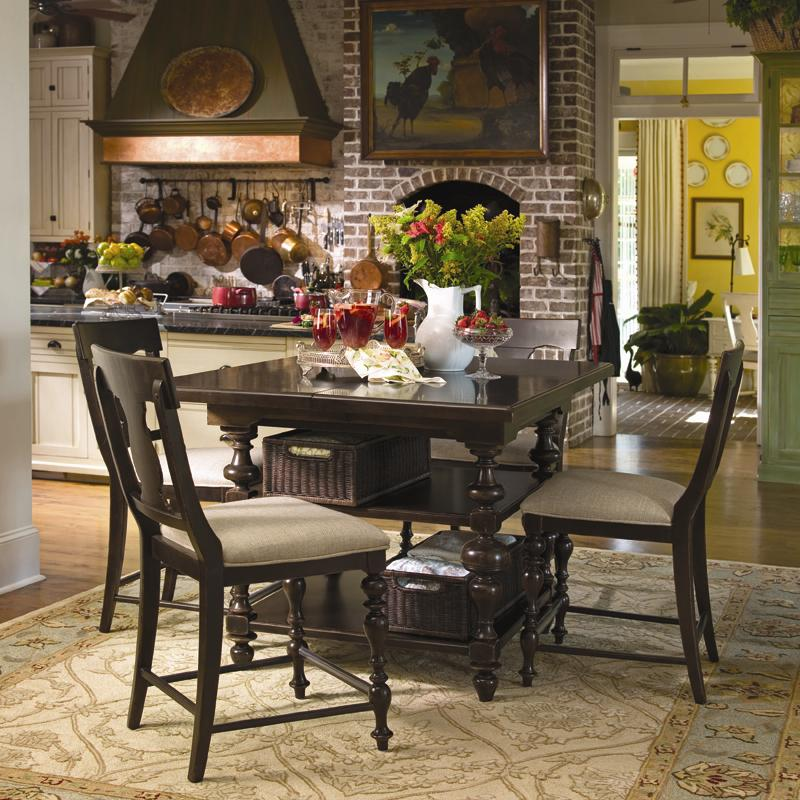 paula deen table and chairs round bamboo chair cushion home 932 by universal powell s furniture mattress dealer