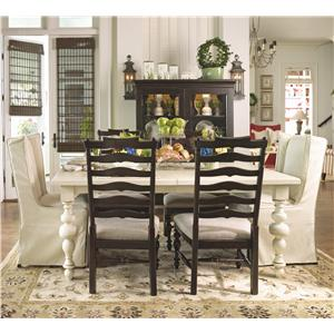 paula deen table and chairs bedroom egg chair home 996 by universal powell s furniture mattress dealer