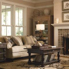 Paula Deen Living Room Furniture Collection Beige Sofa Decor Down Home 193 By Universal Gill Brothers Dealer