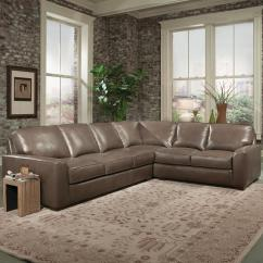 Build Sectional Sofa Leather In Living Room Your Own 8000 Series By Smith Brothers Saugerties Furniture Mart Dealer