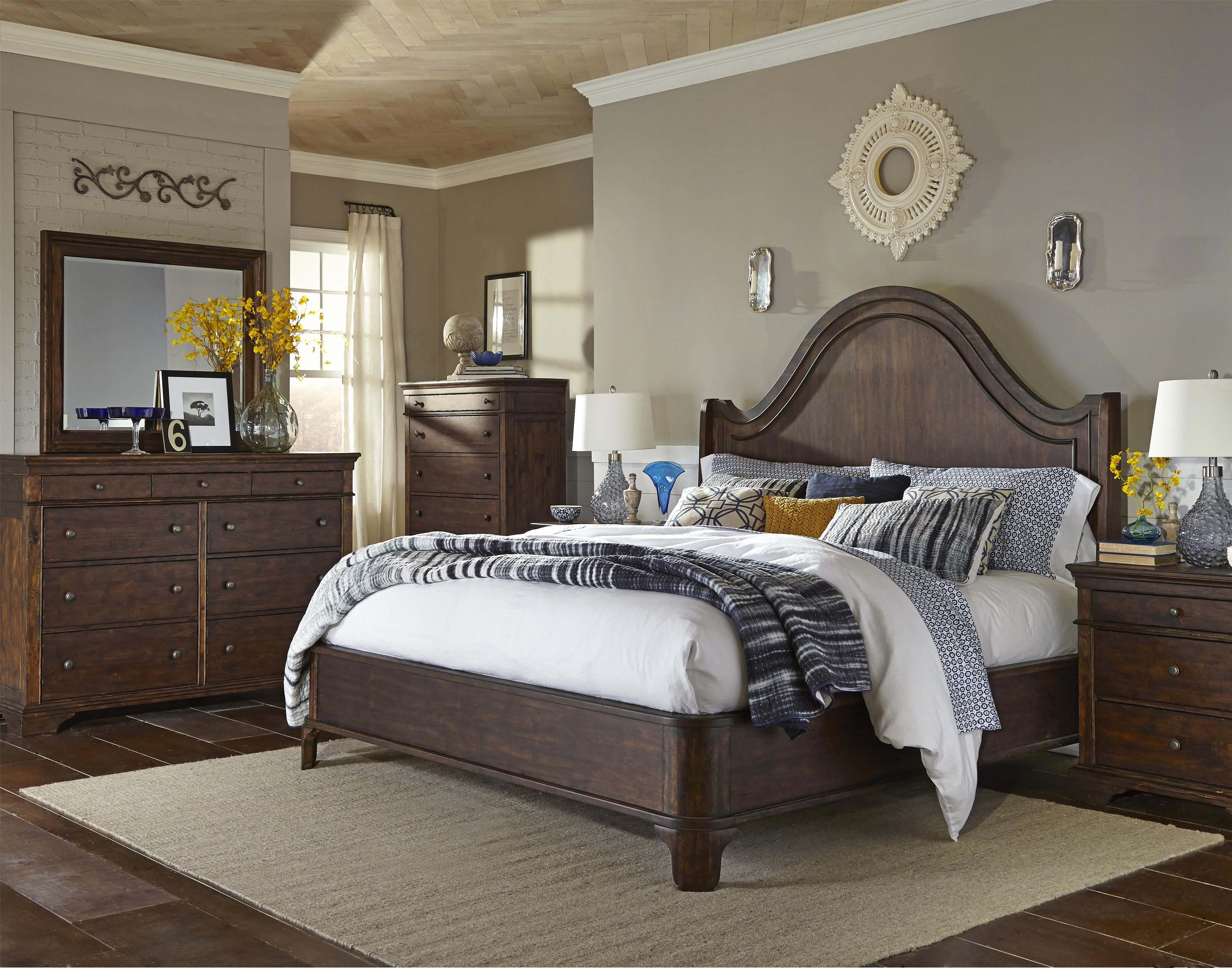 Trisha Yearwood Home Collection By Klaussner Trisha Yearwood Home King Bedroom Group Dream