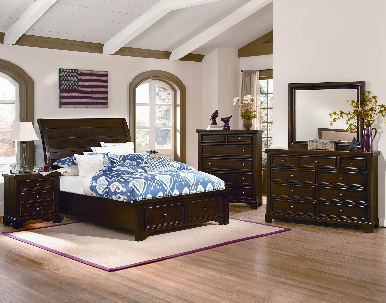Vaughan Bassett Hanover King Bedroom Group  Belfort