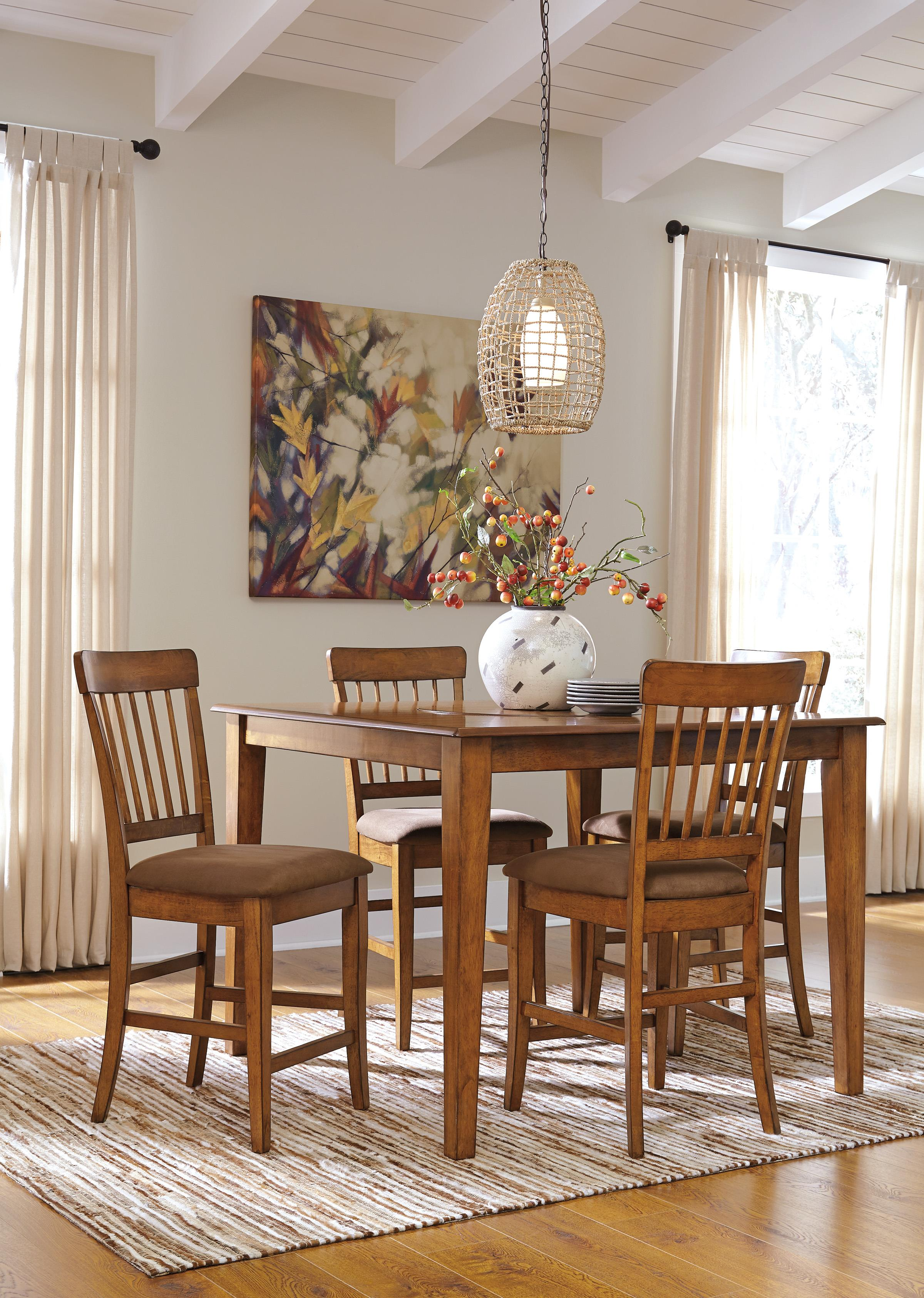 ashley furniture kitchen table and chairs dining chair seat covers john lewis sets fancy tables new at