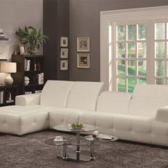 Natalia Leather And Chenille Sofa Sofas Furniture Village Coaster Sectional Mason 503615 In Blue