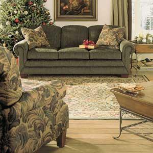 lazyboy leather sofas lazy boy maverick recliner sofa la-z-boy mackenzie premier supreme-comfort™ queen sleep ...
