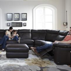 Home Theater Leather Sofa Repairs In Bangalore B757 (b757) By Natuzzi Editions - Baer's Furniture ...
