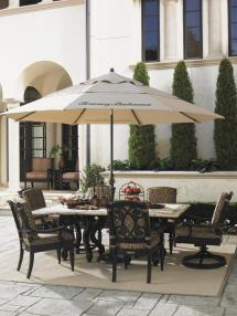 Tommy Bahama Outdoor Dining Stone Table Tops
