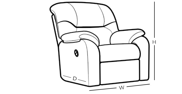 Parker Living Goliath Casual Manual Glider Recliner