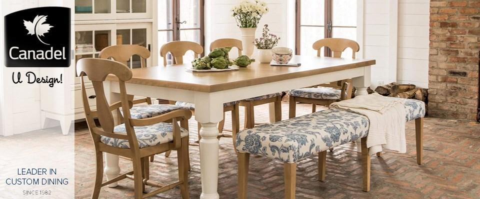 custom living room furniture artwork for my canadel dining at jordan s home furnishings new header