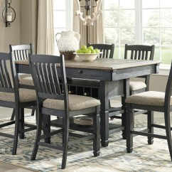 Table And Chairs With Bench Hook On High Chair Shop Dining Furniture John V Schultz Erie Meadville Set