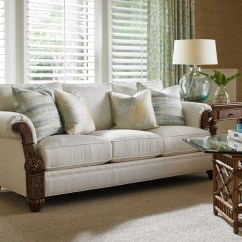Island Inspired Living Room Furniture L Shaped Eclectic Style With Upholstery Baer S Ft Sofa