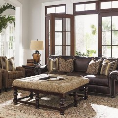Mixing Leather And Fabric Furniture In Living Room Deco A Sofa With Upholstery Pieces Baer S Brown Group