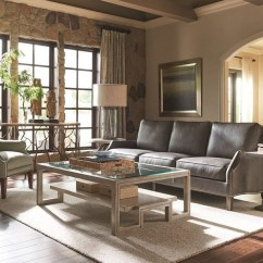 Mixing Leather And Fabric Furniture In Living Room Interior Design For Small Apartment A Sofa With Upholstery Pieces Baer S Group