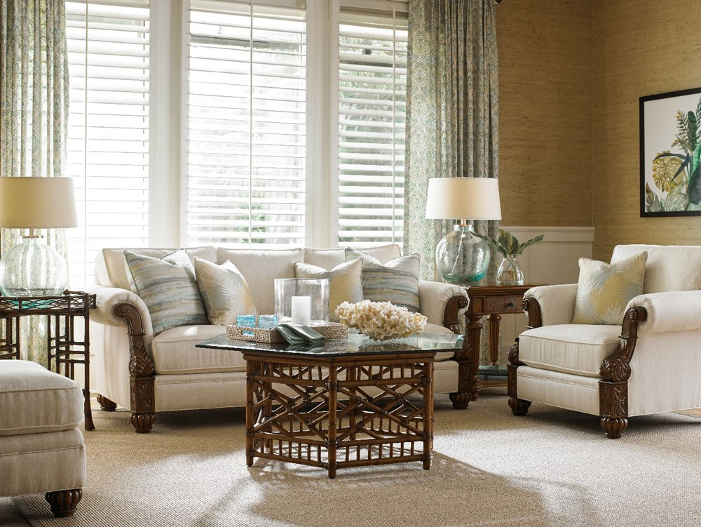 tommy bahama living room sofa set for february is month baer s furniture ft lauderdale tropical