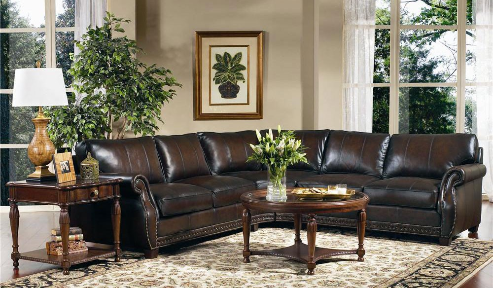 highlight your high end leather sofa