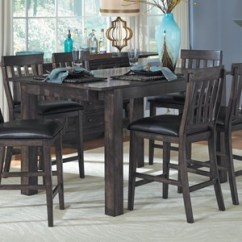 High Top Table With 6 Chairs Yellow Patio Dining Room Furniture At Conlin S Pub Or Gathering Height Tables Browse Page