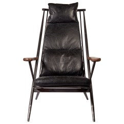Leather Accent Chairs Fishing Chair High Back Pulaski Accentrics Home P006204b Industrial