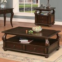 Acme Furniture Amado 80010 Regal Espresso Coffee Table ...