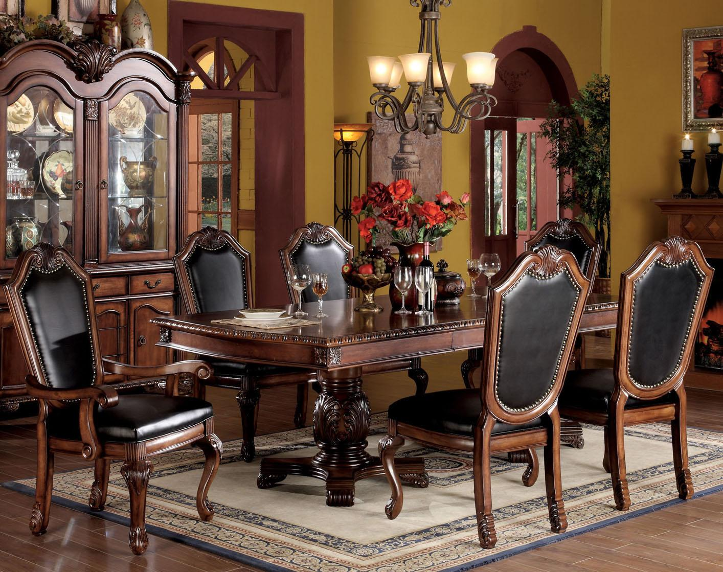 Acme Furniture Chateau De Ville 7 Piece Formal Dining Set