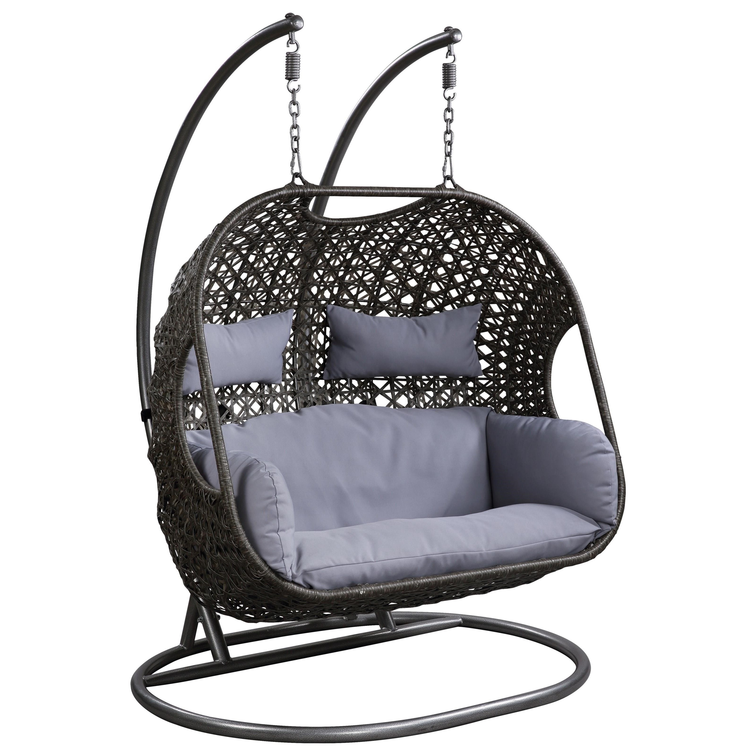 45084 patio swing chair with stand