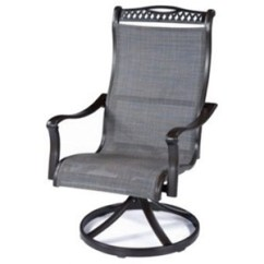 Tall Back Chairs Big Lots Chair Agio Parkdale Adv11801p01 Transitional Sling Swivel Rocker With