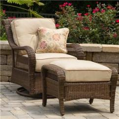 Outdoor Chair And Ottoman Bean Bag Chairs Store Dealer Locator Agio Pinehurst Swivel Glider