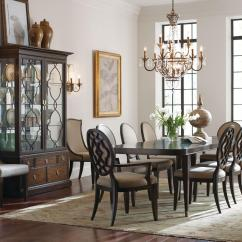 Formal Living Room Set Mattress Sofa American Drew Grantham Hall Dining Group 3 Stoney