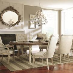 Upholstered Dining Room Chairs With Arms Stidd Chair Accessories Delivery Estimates Northeast Factory Direct Cleveland Eastlake 7 Piece Table Set
