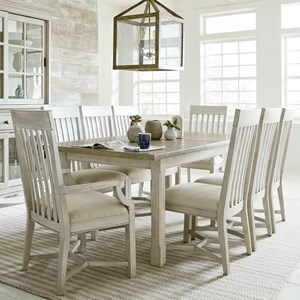 dining table and chair sets knee stool suburban furniture 9 piece set