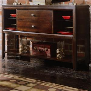 american drew tribecca sofa table easy stretch covers 912 by wayside furniture sideboard credenza