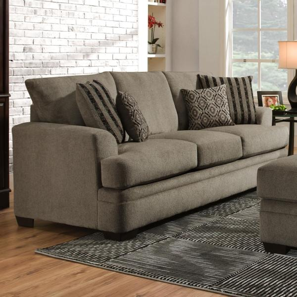 american furniture sofas living room American Furniture 3650 Casual Sofa with 3 Seats   Darvin