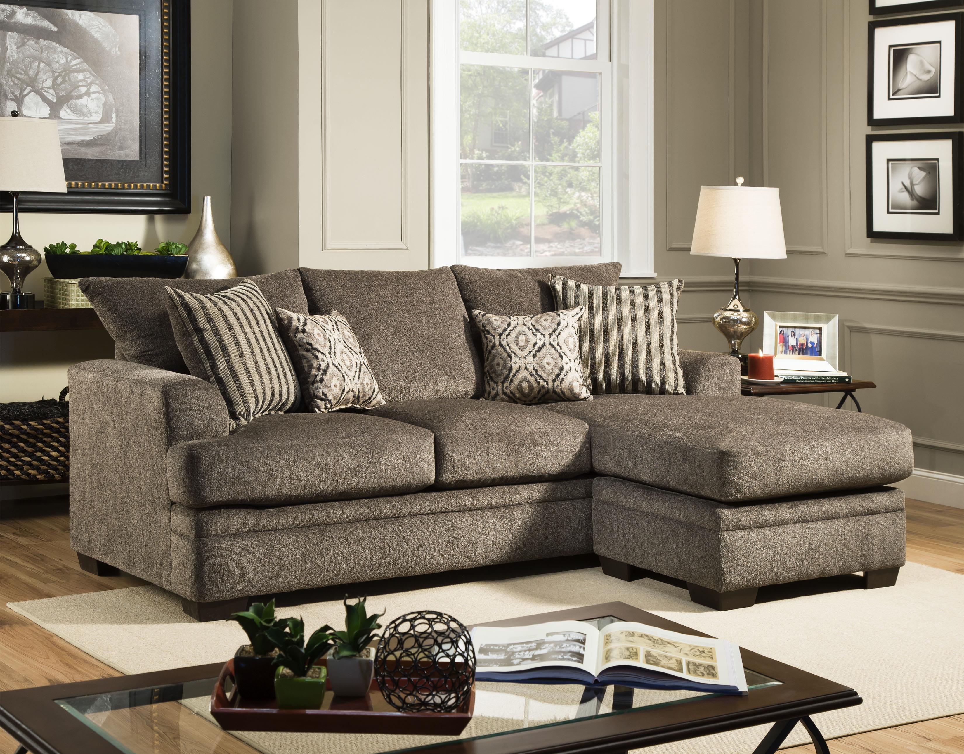 American Furniture 3650 Sofa Chaise Darvin Furniture Sofas