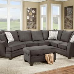 American Furniture Living Room Sectionals Ikea Chairs 3810 Sectional Sofa That Seats 5 With Left Side Cuddler
