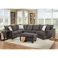American Furniture Living Room Sectionals Rustic Design Ideas 3810 Sectional Sofa That Seats 5 With Right Side Cuddler