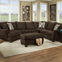 American Furniture Living Room Tables Sectional 3810 Sofa That Seats 5 With Left Side Cuddler