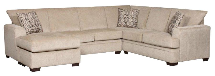 American Furniture 6800 Sectional Sofa With Left Side