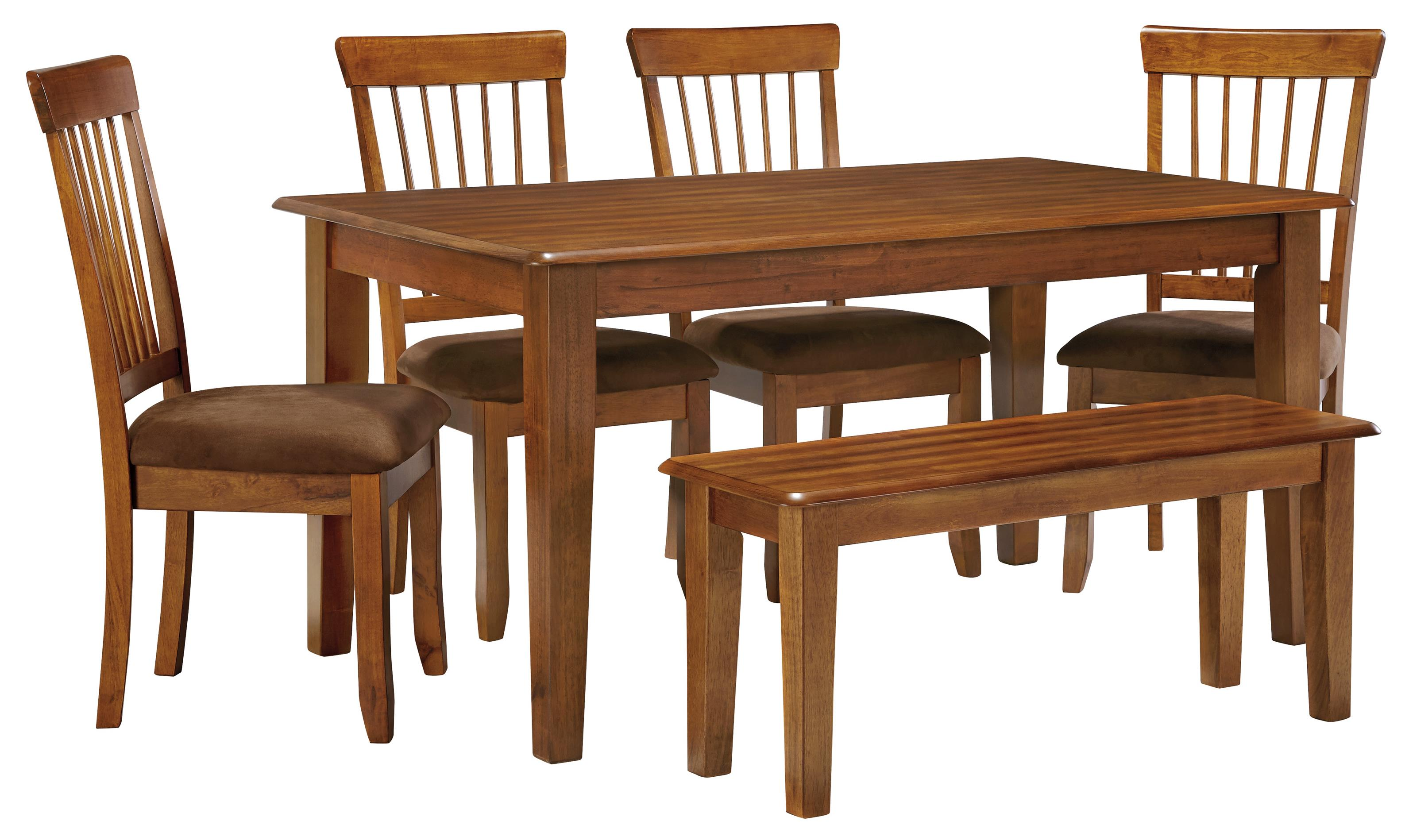 Ashley Furniture Berringer 36 X 60 Table With 4 Chairs Bench Dunk Bright Furniture Table Chair Set With Bench