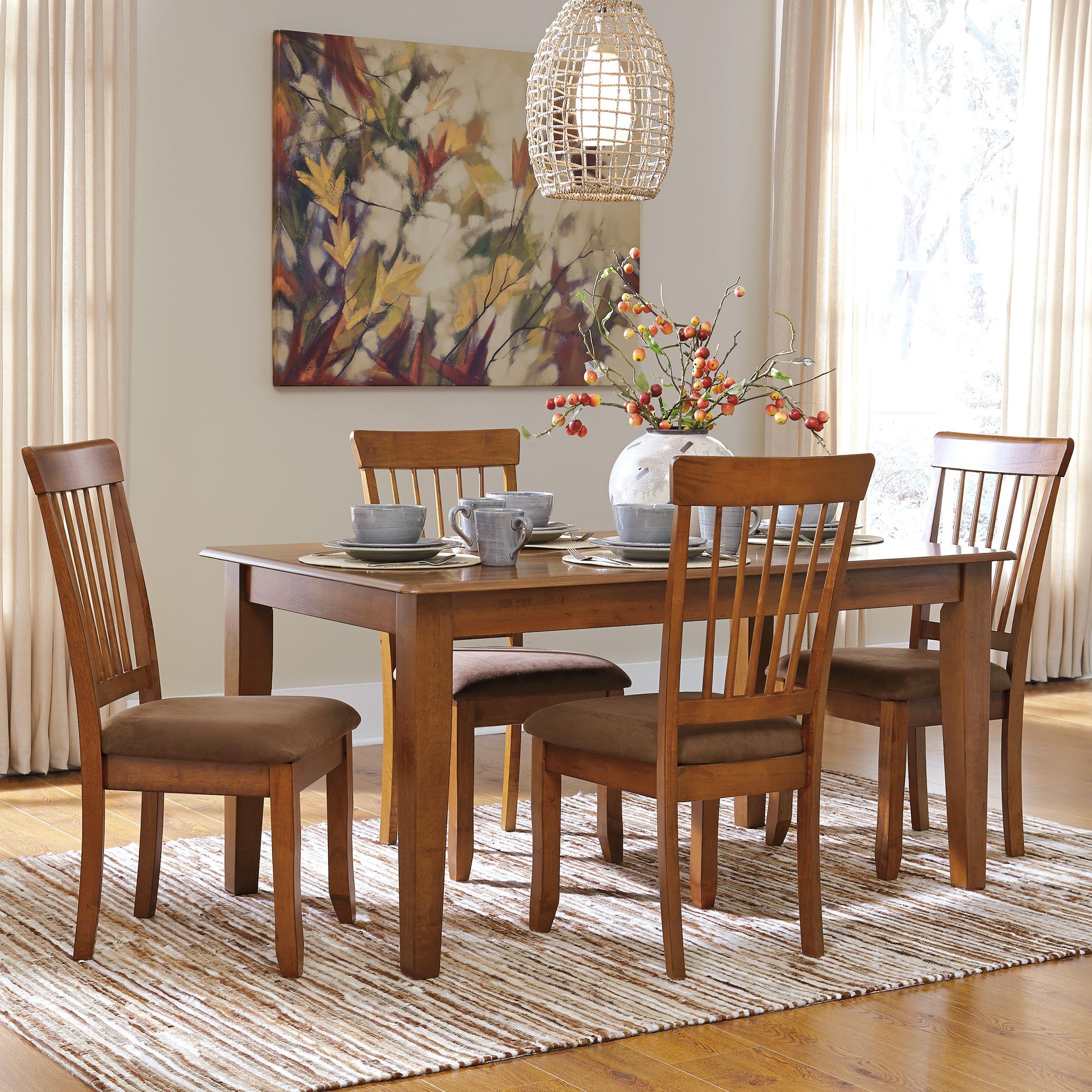 Ashley Furniture Berringer 5Piece 36x60 Table  Chair Set