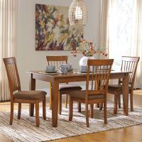 Ashley Furniture Berringer 5-Piece 36x60 Table & Chair Set ...